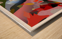 mutual intolerance Wood print
