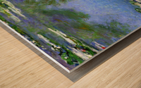 Water Lilies by Monet Wood print
