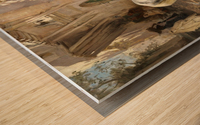 Leon and The O'jays Wood print