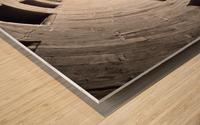 silo perspective Wood print