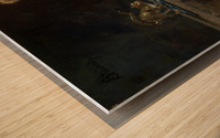 The Lake of Thun Wood print