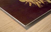 Asparagus Zeit Wood print