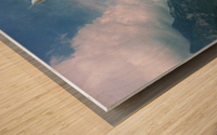 ART  jet   Clouds 1 Wood print
