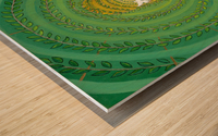 Arcane Passage Wood print