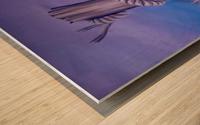 Endless Stillness Wood print