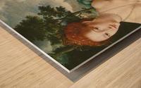 Venus Citerea Wood print