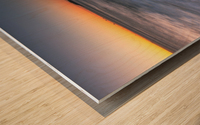 A New Dawn Wood print