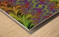 Abstract Design Wood print