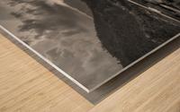 Monochrome Madness - Fewa Lake Wood print