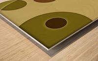 Orbicular Design Wood print
