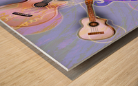 Stringed Instruments Wood print