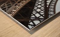 eiffel structure Wood print