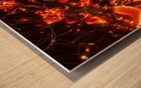 Blast Wood print