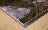 Myra Falls, Strathcona Provincial park; British Columbia, Canada Wood print