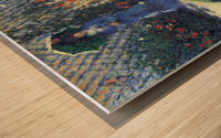 Gladiolas by Monet Wood print