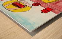 How to Train People Wood print
