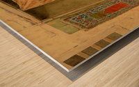 Carpet seller Wood print