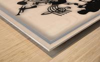 Music Feelings Wood print