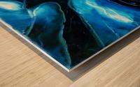 The ocean of my memory Wood print