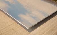 Landscape around Fort Craig VP5 Wood print