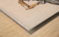 Loading up Wood print