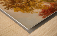 Lake Autumn on the Hudson Wood print