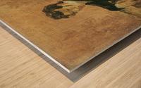 Portait de Carl Blechen Impression sur bois