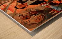 Biscuits Champagne, Lefevre-Utile Wood print