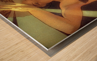 Morning Star Wood print