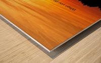 Deep Water Wood print