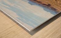 Toward Factory Butte Wood print