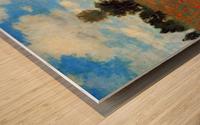Les Coqueliquots Wood print
