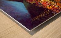 Cinique Terre Impression Wood print