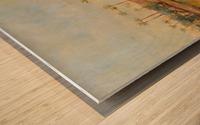 View of a pyramid Wood print