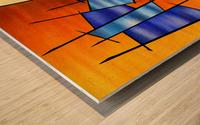 Seria Caloni V1 - the gift Wood print