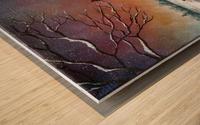Coming Home Wood print