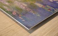 Nympheas at Giverny Wood print