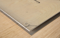 Gennep Wood print