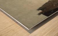 A View on Het Spaarne, Haarlem Wood print