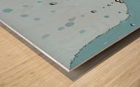 Raindrops 1  Wood print