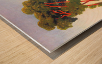 Five Trees by Felix Vallotton Wood print