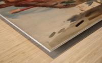 Side Canal, Venice Wood print