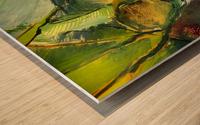 Inner landscape  Wood print