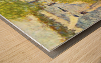 One Sunday on La Grande Jatte, draft by Seurat Wood print