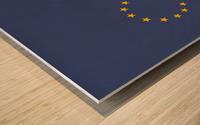 Europe endless Wood print