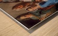 Konzert Wood print
