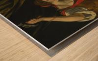Jael and Sisera Wood print