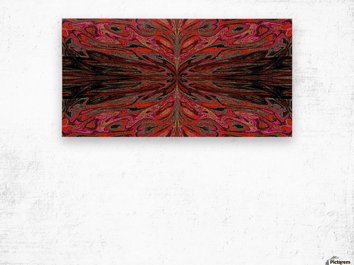 Queen of the Butterflies 55 Wood print