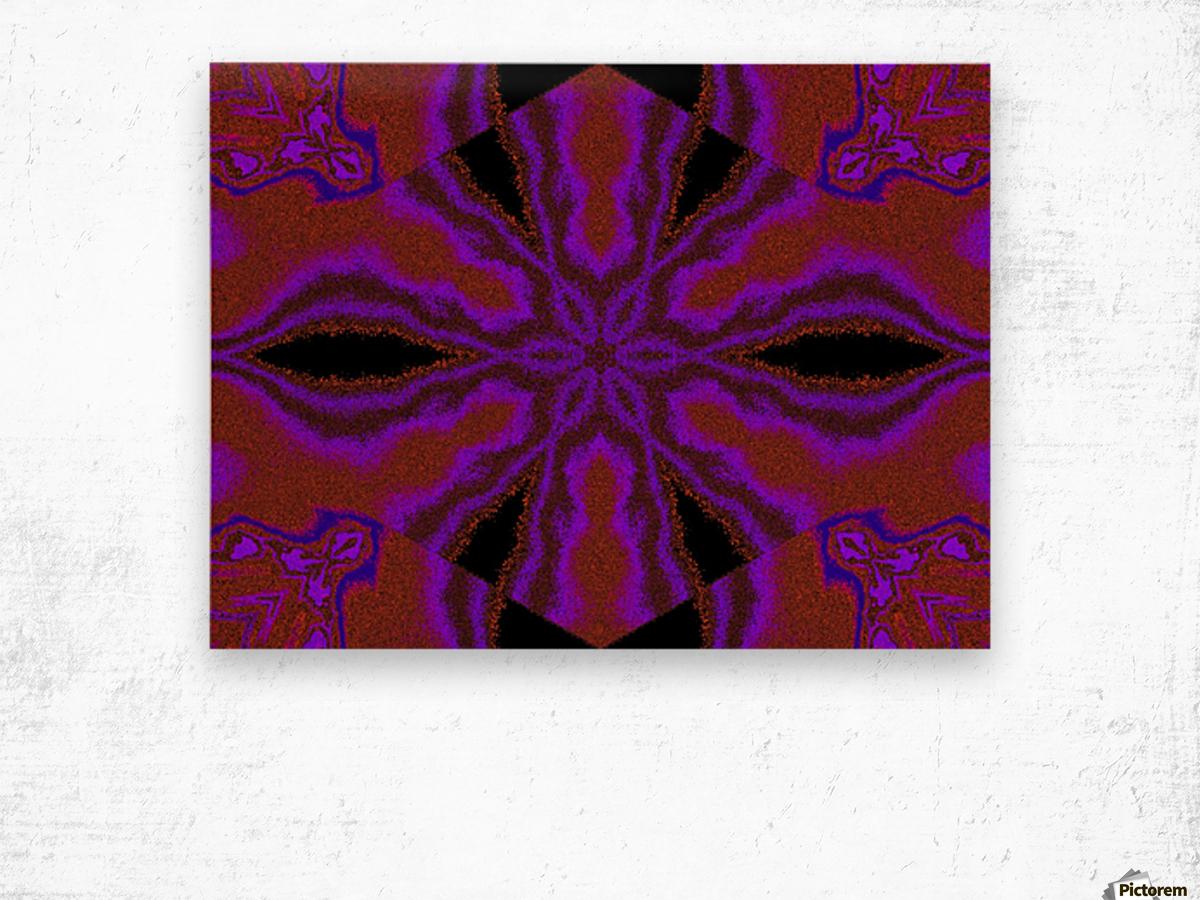 A Flower 5 Wood print