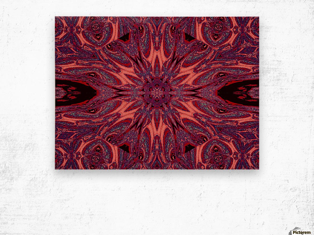 Metamorphosis Rose 2 Wood print